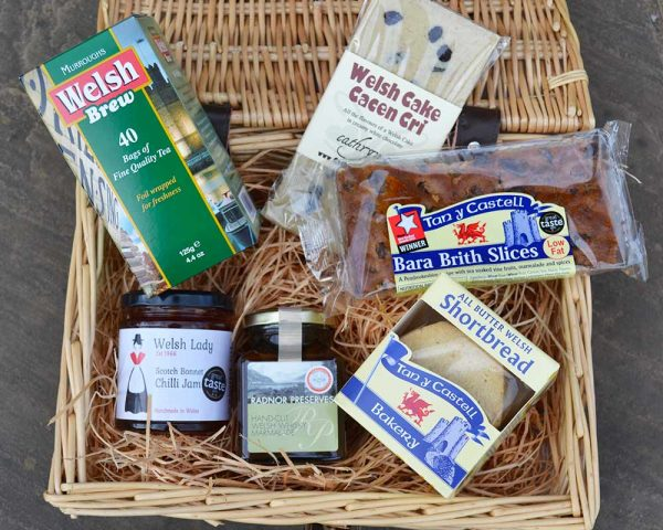 Authentically Welsh Welsh Tea-Time Hamper