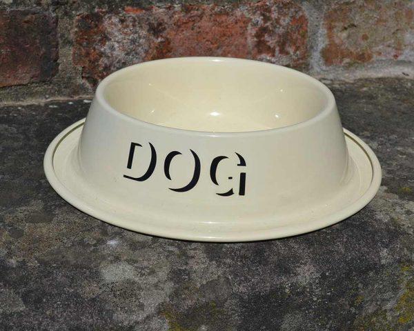 Authentically Welsh Dog Bowl English