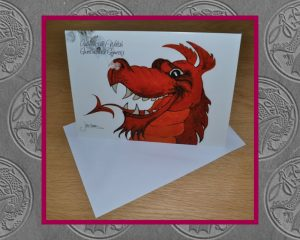 Authentically Welsh Card