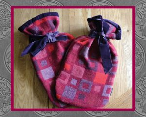 Authentically Welsh Madison Red Hot Water Bottle