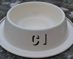 Authentically Welsh Dog Bowl