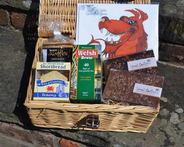 Authentically Welsh Sweet Treats Hamper