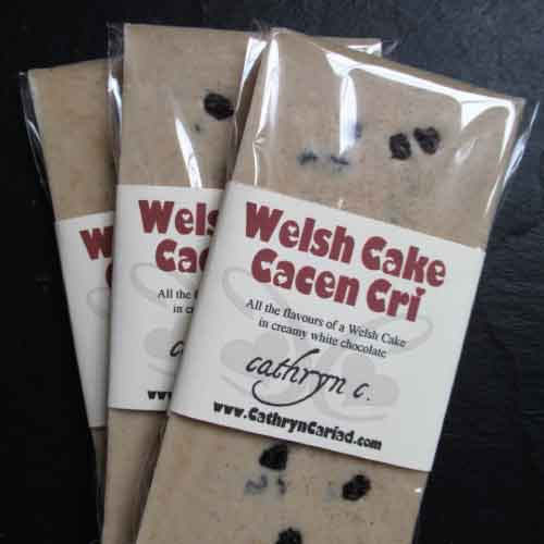 Authentically Welsh Cathryn Cariad Chocolates