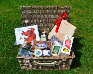 Authentically Welsh Red Dragon Hamper
